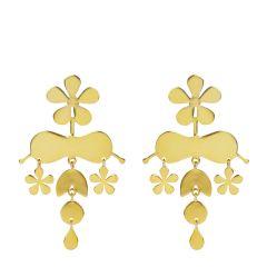 Chandelier Flower Earrings
