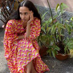 Sunset Flow Nala Dress