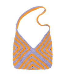 Mini BOOGIE Crochet - Purple/Orange