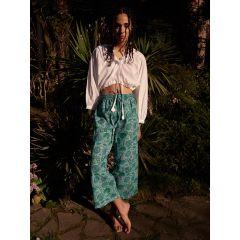 Tropical Blues Pants